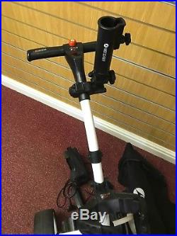 Motocaddy S1 Electric Golf Trolley With Lithium Battery And extras