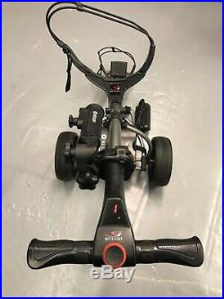 Motocaddy S1 Electric Golf Trolley. With Lithium Battery and Charger Graphite
