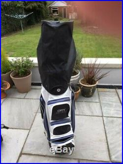 Motocaddy S1 Electric Golf Trolley and Dry Series bag, lithium 18 hole battery