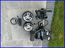 Motocaddy S1 Electric Golf Trolley with Lithium Battery Graphite