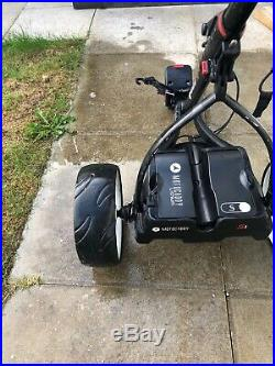 Motocaddy S1 Electric Trolley + Lithium 18 Hole Battery + Battery Charger