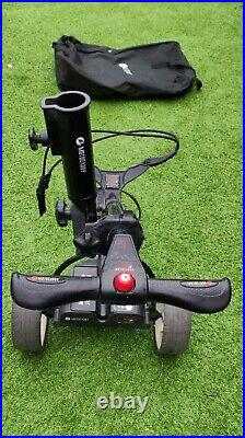 Motocaddy S1 Electric Trolley with Lithium battery, accessories and carry bag