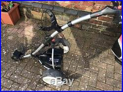 Motocaddy S1 Electric golf trolley lithium 36 Hole Battery, Matching Cart Bag