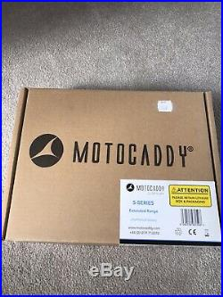 Motocaddy S1 Extended 36 hole Lithium Battery Golf Trolley brand New In Box
