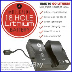 Motocaddy S1 Golf Trolley +18 Hole Lithium Battery +free £89.99 Accessory Pack