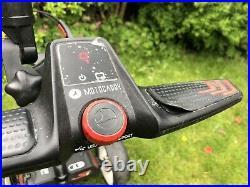 Motocaddy S1 PRO Electric Golf Trolley, 18 Hole Lithium Battery, umbrella holder