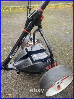 Motocaddy S1 PRO Electric Golf Trolley Lithium Battery