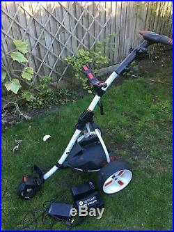 Motocaddy S1 PRO Golf Trolley with 36 hole Lithium Battery