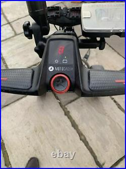 Motocaddy S1 Pro Electric Golf Trolley With Lithium Battery And Accessories