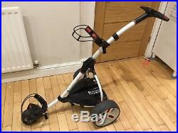 Motocaddy S1 Pro Electric Golf Trolley With Lithium Battery And Matching Bag