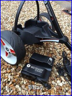 Motocaddy S1 Pro Electric Golf Trolley with 36 Hole Lithium Battery