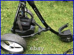 Motocaddy S3 Digital Electric Golf Trolley, 16Ah Lithium Battery, charger, extras