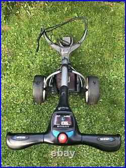 Motocaddy S3 Digital Electric Golf Trolley, 36 hole Lithium Battery, charger