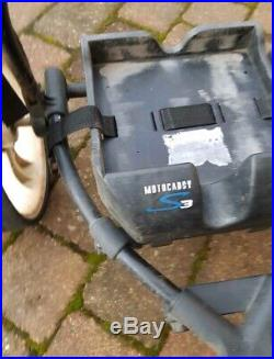 Motocaddy S3 Electric Golf Trolley / 18 hole Lithium Battery, Charger, Carry Bag