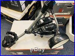 Motocaddy S3 Electric Golf Trolley Lithium Battery New Wheels 24 Hour Delivery
