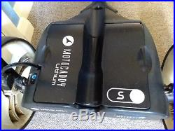 Motocaddy S3 Lithium Golf Trolley. 18 Hole Lithium battery. FREE P&P