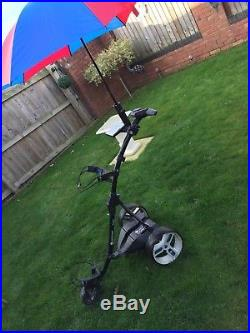 Motocaddy S3 Pro Electric'Fold Up' Golf Trolley with Lithium Battery & Charger