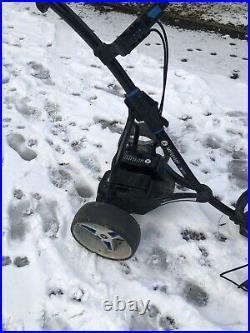 Motocaddy S3 Pro Electric Golf Trolley 18 Hole Lithium Battery & Umbrella Holder