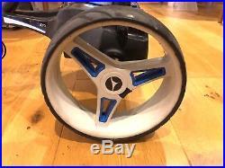 Motocaddy S3 Pro Electric Golf Trolley 5 Year Lithium Battery /w Umbrella Holder