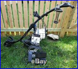 Motocaddy S3 Pro Electric Golf Trolley Lithium Battery Included Power Supply