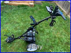 Motocaddy S3 Pro Electric Golf Trolley Lithium Battery Plus numerous Extras