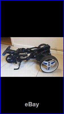Motocaddy S3 Pro Electric Golf Trolley Lithium Extended Battery Plus Extras