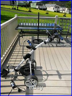 Motocaddy S3 Pro Electric Golf Trolley with 27 hole Lithium Battery and charger