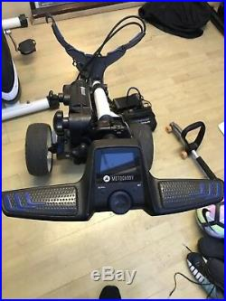 Motocaddy S3 Pro Electric Golf Trolley with 36 Hole Lithium Battery