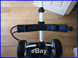 Motocaddy S3 Pro Electric Golf Trolley with Lithium Battery & Charger