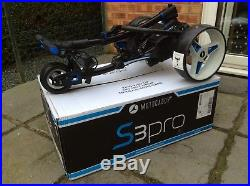 Motocaddy S3 Pro Lithium Battery Golf Trolley Brand New And Unused