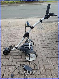Motocaddy S3 Pro Lithium Electric Golf Trolley 36 Hole With Umbrella Holder