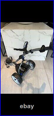 Motocaddy S3 Pro Lithium Electric Trolley With Umbrella Holder
