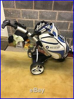 Motocaddy S3 Pro Trolley with Lithium Battery including Bag