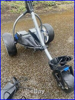 Motocaddy S3 Pro electric golf trolley + Lithium Battery + Extras