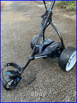 Motocaddy S3 Pro electric golf trolley with Lithium Battery Plus Extras