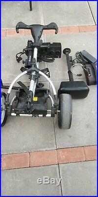 Motocaddy S3 electric golf trolley lithium