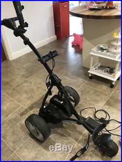 Motocaddy S5 connect DHC Electric Golf Trolley with Lithium Battery & Charger
