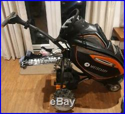 Motocaddy S7 Remote 20Ah Lithium Battery Golf Trolley With Bag and Winter Wheels