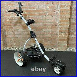 Motocaddy S7 Remote Control Electric Golf Trolley Lithium Extended Battery White