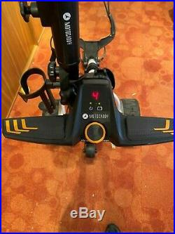 Motocaddy S7 Remote Control Golf Trolley with lithium battery and extras
