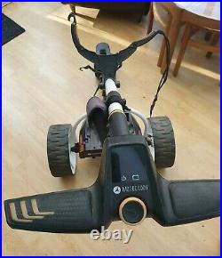 Motocaddy S7 Remote Electric Golf Trolley, Extended Lithium Battery + Charger