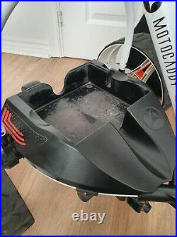 Motocaddy S7 Remote Electric Golf Trolley Lithium 36 Hole Battery Great Cond