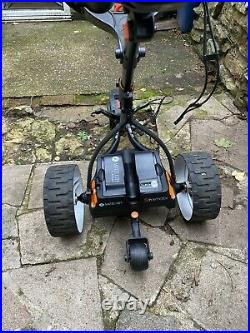 Motocaddy S7 Remote Electric Golf Trolley, Lithium Battery & Deluxe Travel Bag