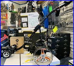 Motocaddy S7 Remote Electric Golf Trolley Wi/ New Lithium Battery (5yr Warranty)