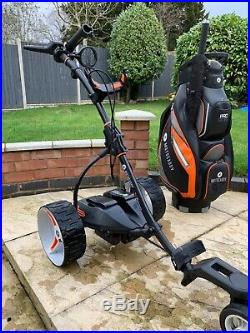 Motocaddy S7 Remote Golf Trolley With Lithium Batter LOADS OF EXTRAS
