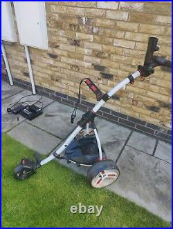 Motocaddy electric golf trolley 36 Hole Lithium battery with quick lock Bag