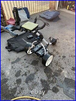 Motocaddy electric golf trolley lithium