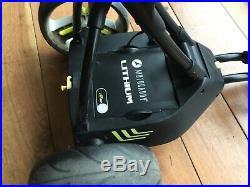 Motocaddy m1 pro electric trolley & umbrella holder + 18 hole lithium battery