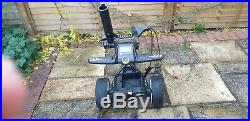 Motocaddy m3 pro electric golf trolley 36 hole lithium battery and charger