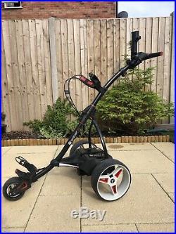 Motocaddy s1 electric golf trolley 18 hole lithium